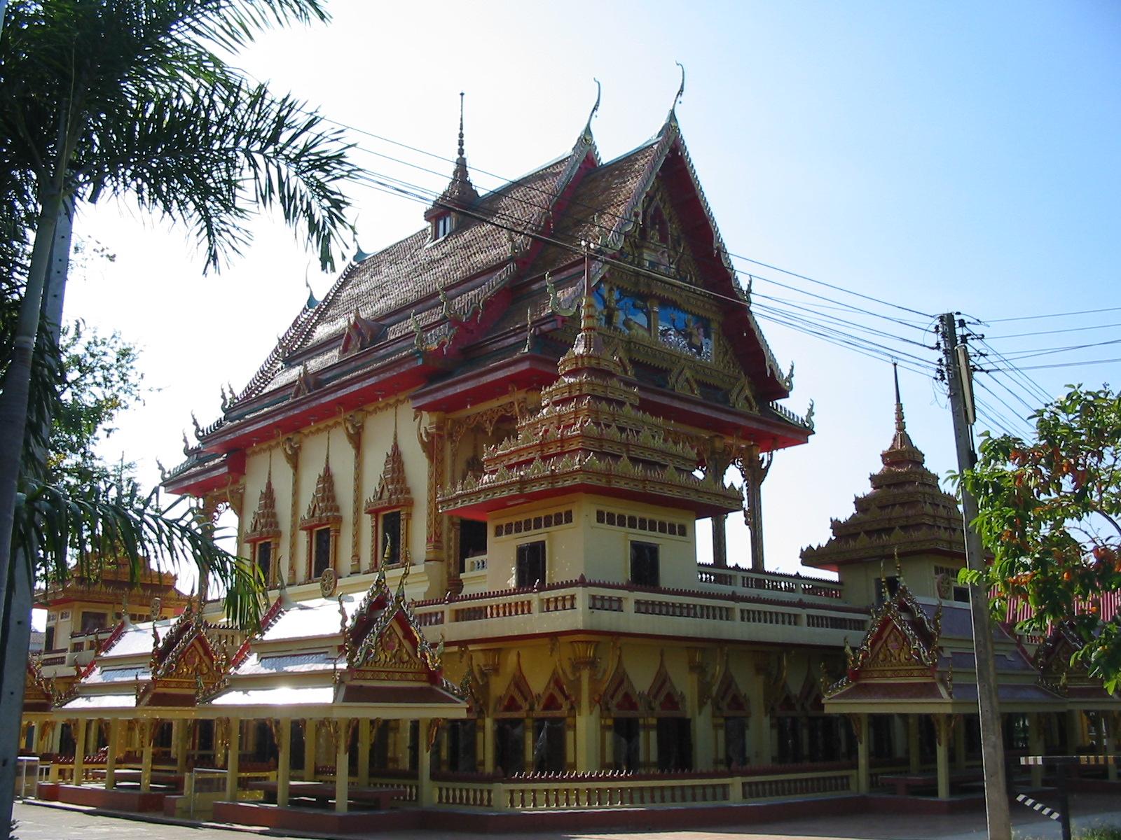 Một ngôi chùa tại Tỉnh Udon, Thái Lan, nơi có nhiều người Việt