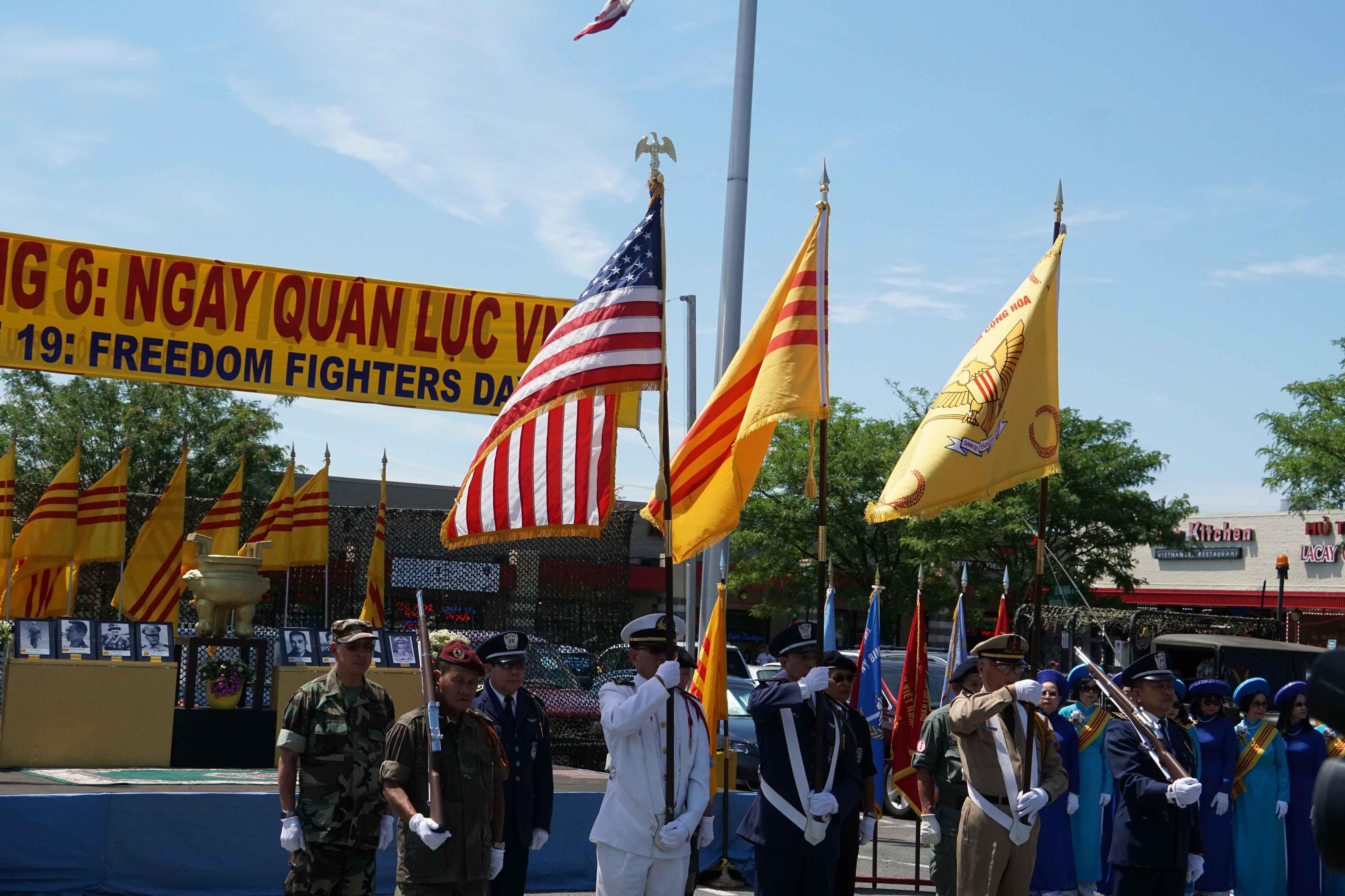 Hình ảnh Lễ Kỷ niệm Ngày Quân Lực VNCH 19/6 tại Virginia