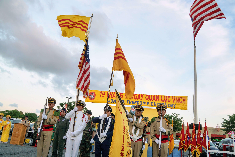 Hình ảnh Lễ Kỷ Niệm Ngày Quân Lực 19-6 tại Falls Church, Virginia ngày 17 và 18/6/2017