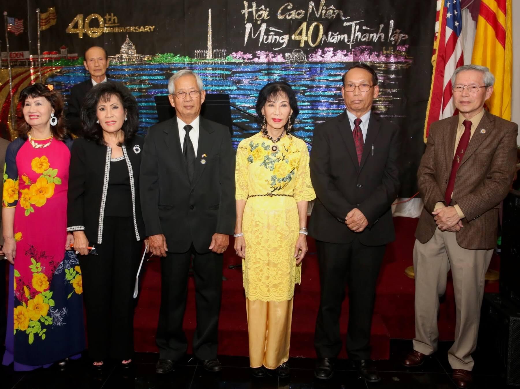 Hình ảnh Dạ tiệc Kỷ niệm 40 năm thành lập Hội